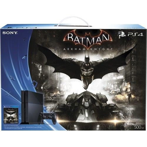 Sony PlayStation 4 500GB Batman: Arkham Knight Bundle - Black