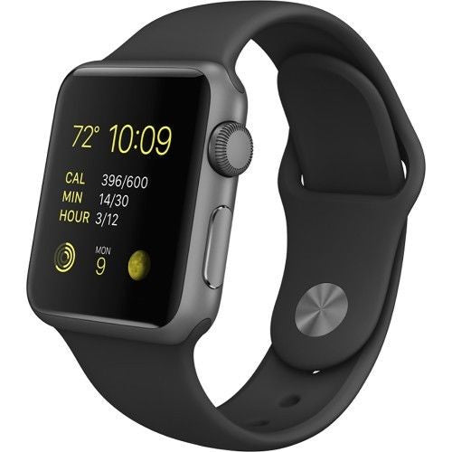 Apple Watch Series 1 Sport 42mm Aluminum Case - Space Gray Sports Band