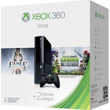 Xbox 360 500GB Fable and Plants vs. Zombies: Garden Bundle - Black
