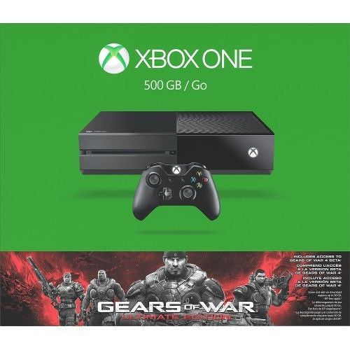 Xbox One - 500GB Gears of War: Ultimate Edition Bundle - Black