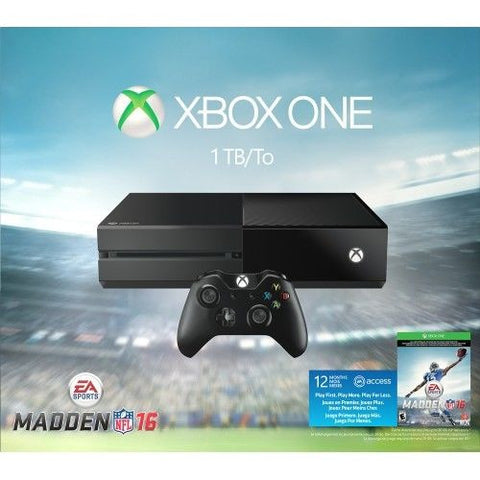 Microsoft - Xbox One 1TB Madden NFL 16 Bundle - Black