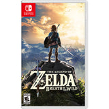 NINTENDO Switch Kit with the Legend of Zelda: Breath of the Wild & Just Dance 2017 - Neon Blue & Red Joy-Con