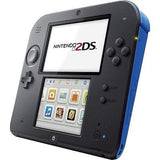 NINTENDO 2DS Video Game Console With Mario Kart 7 - Electric Blue