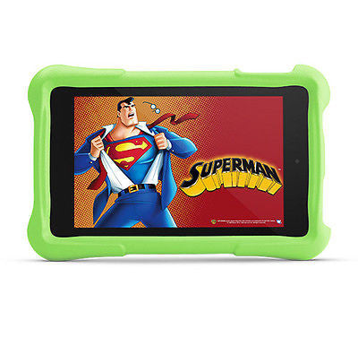 "AMAZON Fire HD Kids Edition 6"" 8GB - Black With Green Case Bundle"