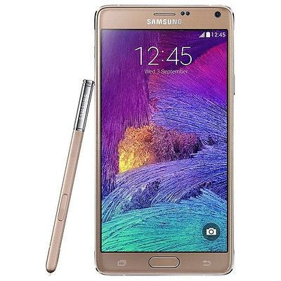 SAMSUNG - Galaxy Note 4 4G Cell Phone (Unlocked) - Gold