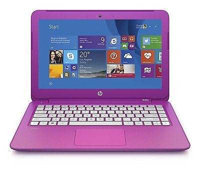 "HP Stream 11.6"" Laptop, Intel Celeron 2GB Memory - Orchid Magenta"