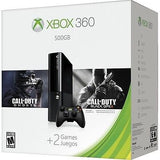 Xbox 360 500GB HOLIDAY BUNDLE, Call of Duty Ghosts & Black Ops 2