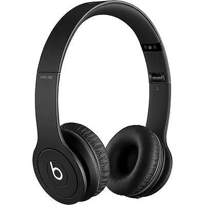 Beats by Dr. Dre - Solo HD On-Ear Headphones - Drenched in Black