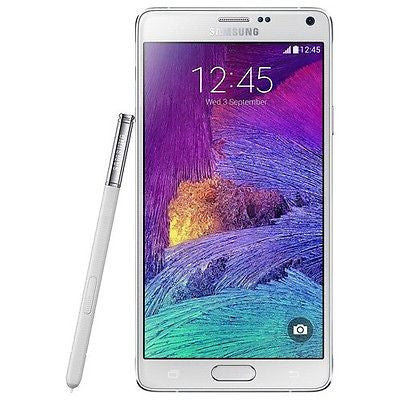 SAMSUNG - Galaxy Note 4 4G Cell Phone (Unlocked) - White