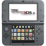 NINTENDO Black 3DS XL Handheld Game Unit (NEWEST MODEL)