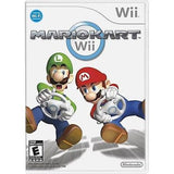 NINTENDO - Wii Mini Video Game Console w/ Mario Kart Game - RED