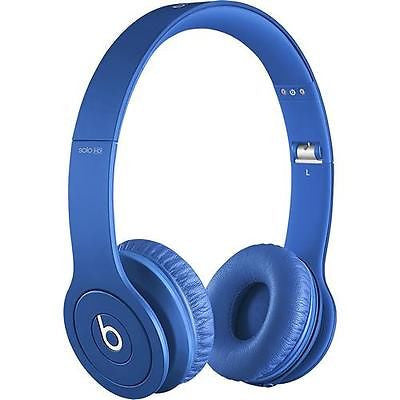 Beats by Dr. Dre - Solo HD On-Ear Headphones - Drenched in Blue