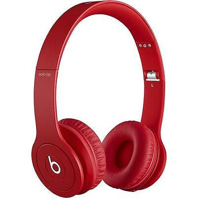 Beats by Dr. Dre - Solo HD On-Ear Headphones - Drenched in Red