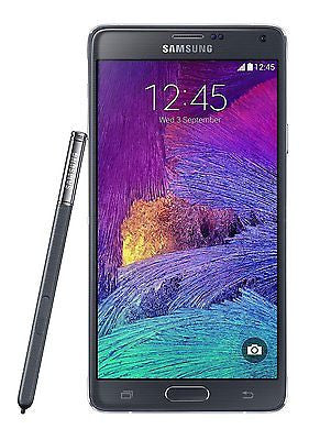 SAMSUNG - Galaxy Note 4 4G Cell Phone (Unlocked) - Black
