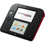 NINTENDO 2DS Video Game Console With Mario Kart 7 - Crimson Red