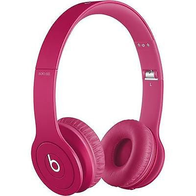 Beats by Dr. Dre - Solo HD On-Ear Headphones - Drenched in Pink