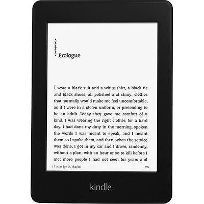 "AMAZON Kindle Paperwhite 3G High Resolution 4GB, Wi-Fi, 6"" Black"