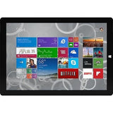 MICROSOFT SURFACE Pro 3 - 64GB With Intel i3 - Silver