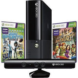 Xbox 360 With Kinect 4GB Holiday Bundle with 2 Games - Kinect Sports