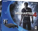 SONY - PlayStation 4 Slim Console Uncharted 4: A Thief's End Bundle - Black