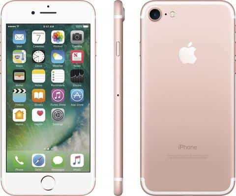 "APPLE - iPhone 7 ""Latest Model"" 32GB (Unlocked) - Rose Gold"