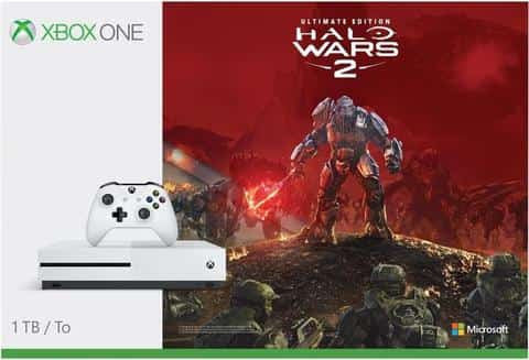 MICROSOFT Xbox One S 1TB Halo Wars 2 Console Bundle With 4K HD