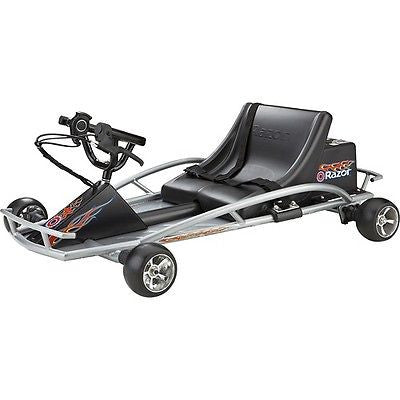 Razor Ground Force Electric Go-Kart - Silver