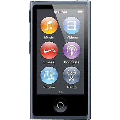 APPLE iPod NANO 16GB MP3 Player (7th Generation) - Slate