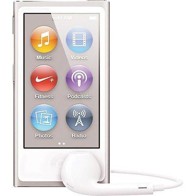 APPLE iPod NANO 16GB MP3 Player (7th Generation) - Silver