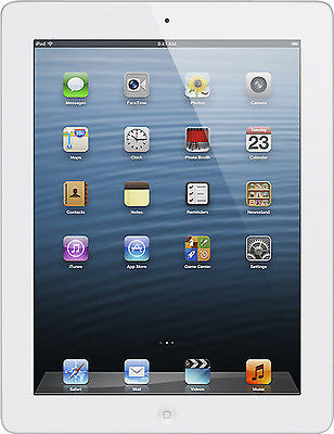 APPLE iPad 4th Generation Wi-Fi 16GB PC Tablet - White