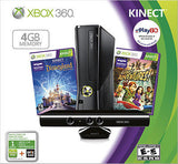 Xbox 360 4GB HOLIDAY KINECT Two Game Bundle (Older Model)