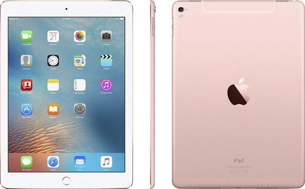 Apple - 9.7-Inch iPad Pro with WiFi, 32GB - Rose Gold