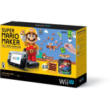Nintendo Wii U 32GB Super Mario Maker Video Game Console Deluxe Set