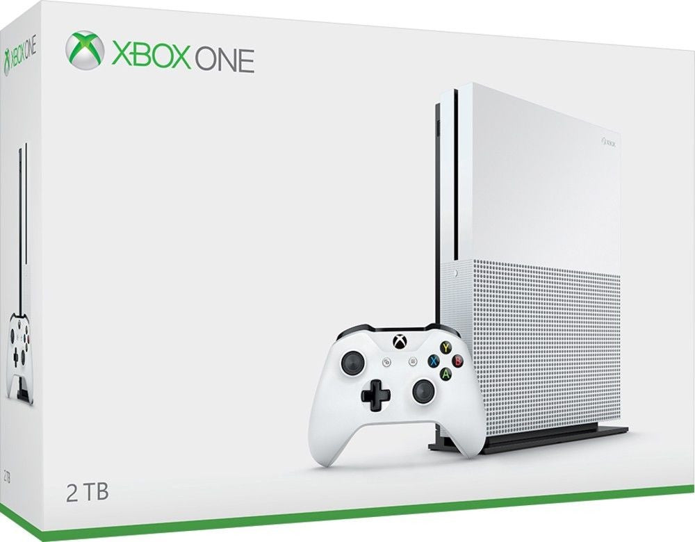 MICROSOFT - Xbox One S 2TB Video Game Console - White