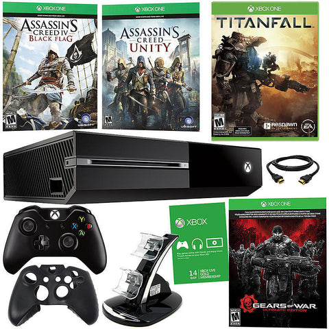 MICROSOFT - Xbox One 500GB Gears of War: Ultimate Edition Bundle With 3 Games!