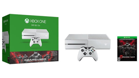 Xbox One Special Edition Gears of War Bundle - Cirrus White