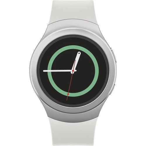 SAMSUNG Gear S2 Smartwatch 52mm Stainless Steel AT&T - White