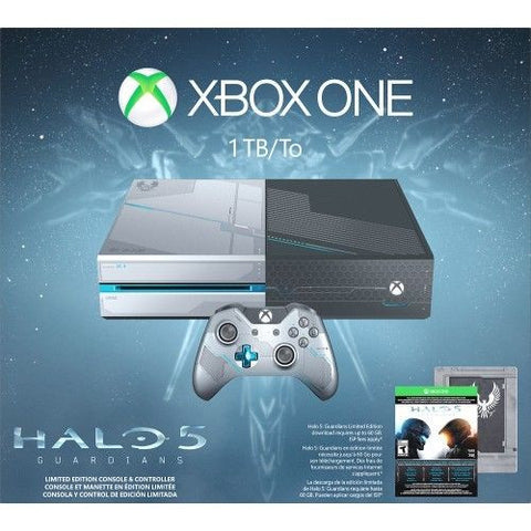 MICROSOFT - Xbox One Limited Edition Halo 5: Guardians Bundle