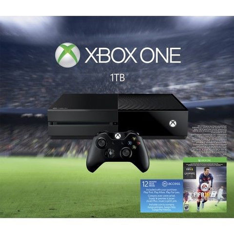 MICROSOFT - Xbox One 1TB EA Sports FIFA 16 Bundle - Black