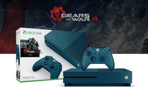 MICROSOFT - Xbox One S 500GB Gears of War 4 Special Edition Bundle
