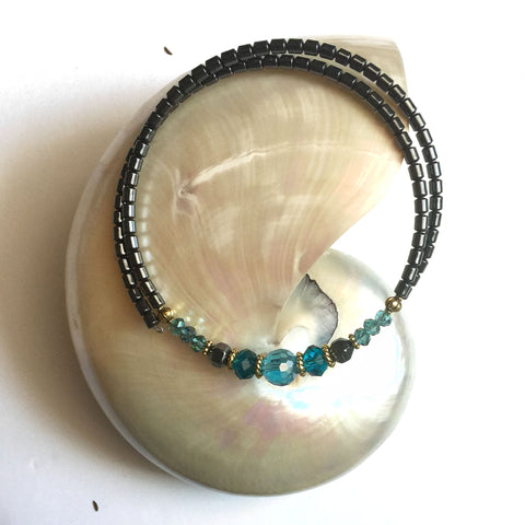Capri Blue Chocker