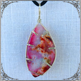PINK DRUZY AGATE