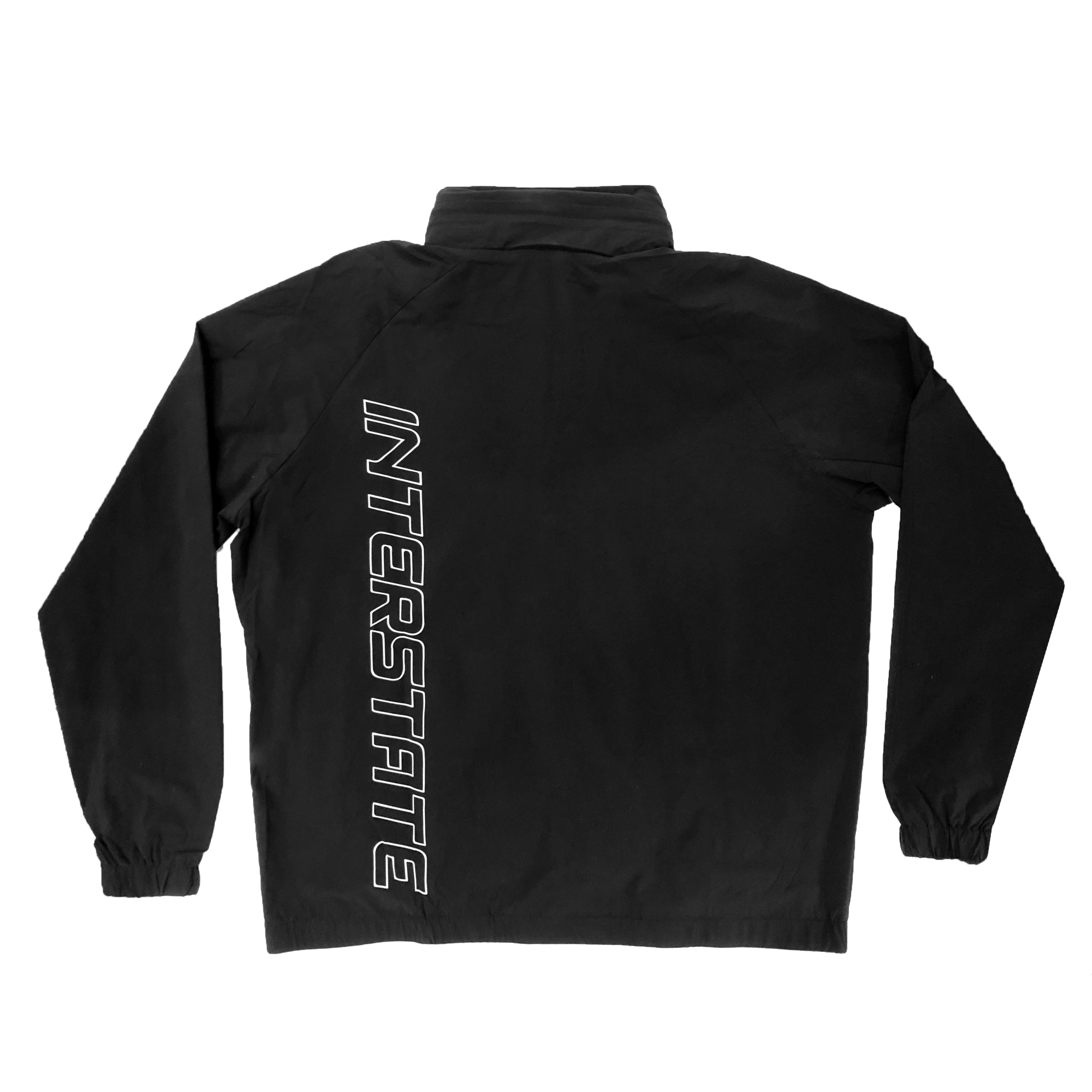 Interstate 3M Track Jacket v1- Black