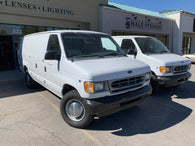 Ford E-350 Extended Cargo Van with Shelves