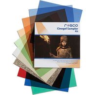 "Rosco Cinegel Sampler Gel Kit - 12""x12"""