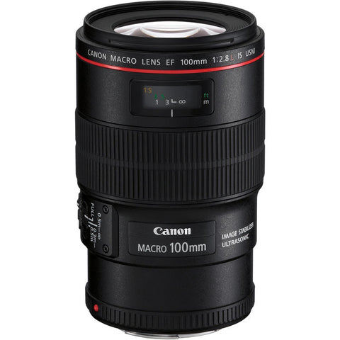 Canon 100mm f/2.8L Macro IS USM Lens