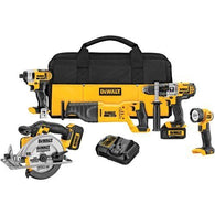 DEWALT 20V MAX Li-Ion Combo Kit (5-piece)