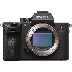 Sony Alpha a7R III Camera for Rent, front view