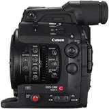 Canon C300 Mark II Camera Rental, side view