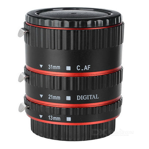 Extension Tube Set (13, 21, 31mm)